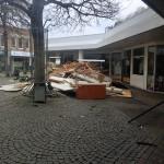 Bilderserie Abriss Tannenbusch-Center 01