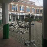 Bilderserie Abriss Tannenbusch-Center 02