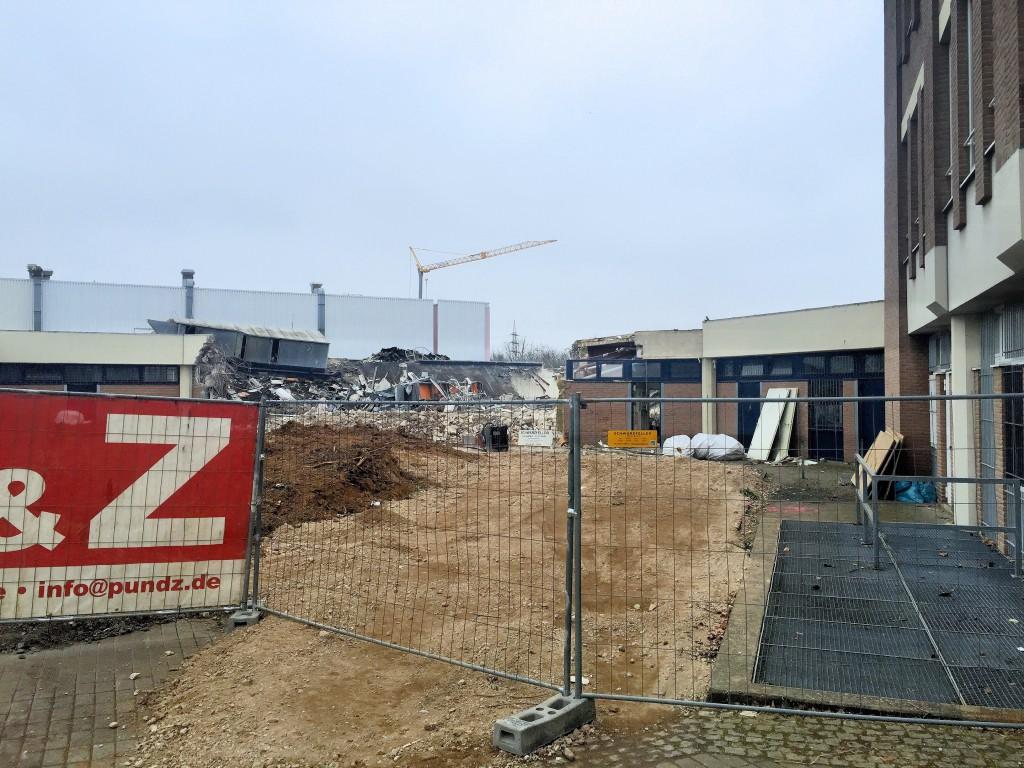 Bilderserie Abriss Tannenbusch-Center 03