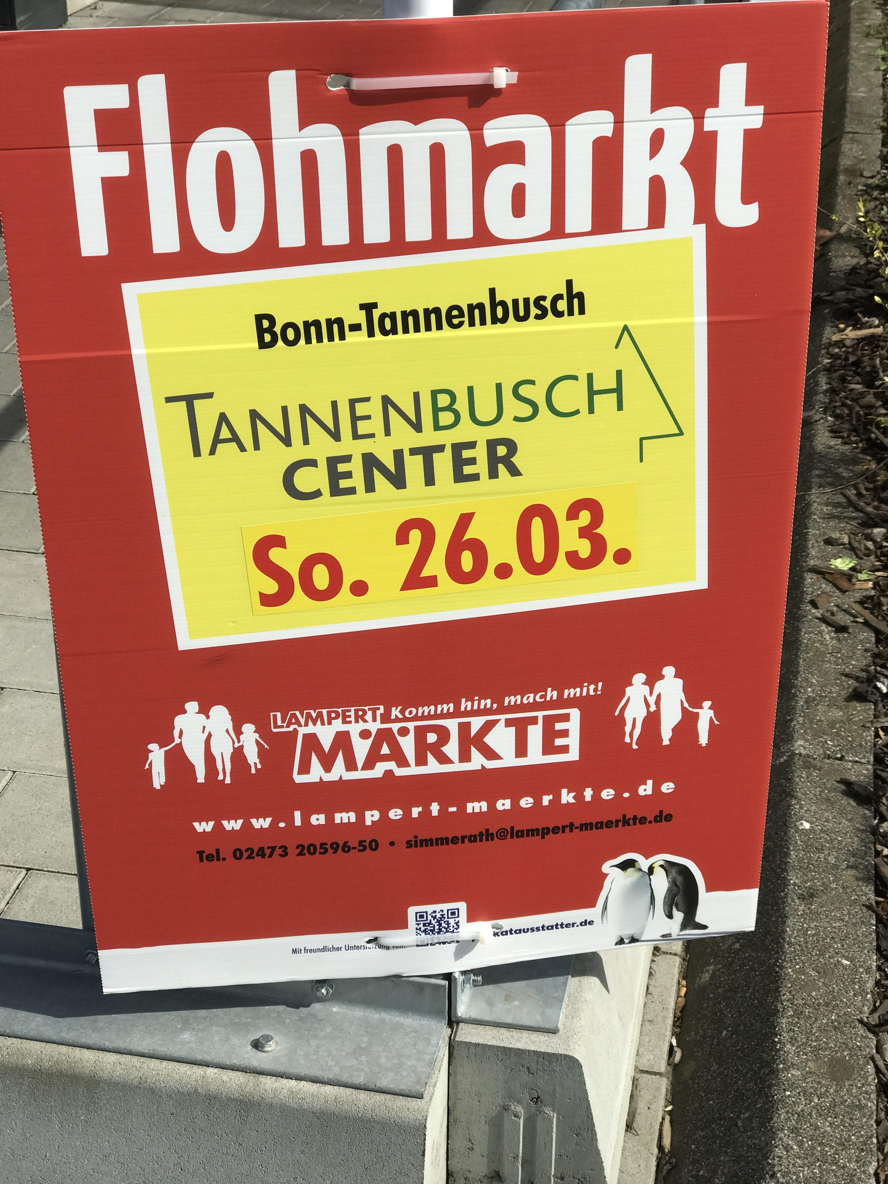 Flohmarkt am 26. März 2017
